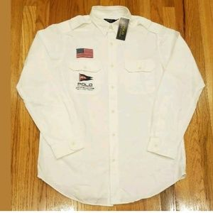 Polo Ralph Lauren Men Off Shore Sailing Flag Shirt